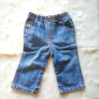 Guess pants for little girl