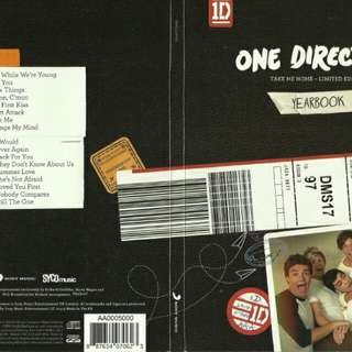 one direction take me home yearbook limited edition