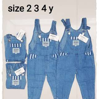 Overall unisex softjeans