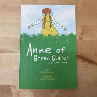 Graphic novel: Anne of Green Gables