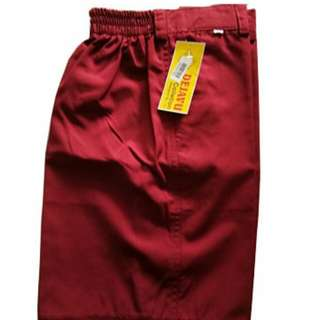 Celana SD Merah Pendek Dejavu