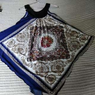 Cute handkerchief top!