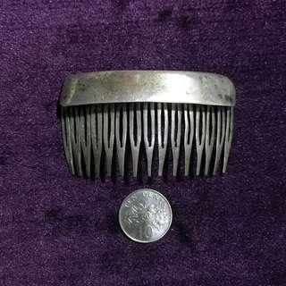 1950s Peranakan Silver Hair Comb/Pin