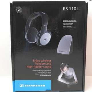 Sennheiser RS 110-8 II On-Ear Professional Wireless Headphones