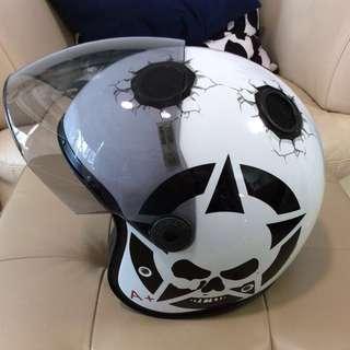 Jet Open face Helmet Caberg Doom Darkside size XL