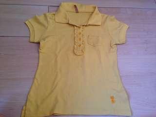 Whatever Yellow Polo Shirt
