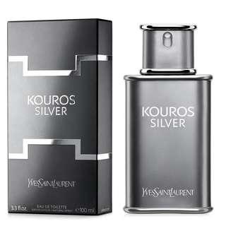 YSL Silver Kouros EDT (Men)