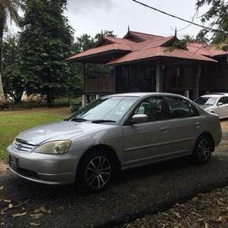2001 Honda Civic 1.7