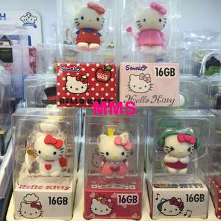 正版 Sanrio Hello Kitty 16GB USB 手指 USB Flash Drive 禮物
