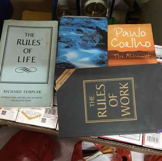 Books of various title