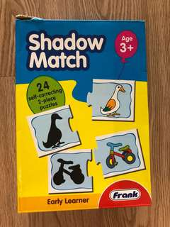 Early Learning Shadow Match Puzzle