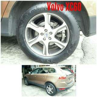 Tyre 235/60 R18 Membat on Volvo XC60 🐕 Super Offer 🙋♂️