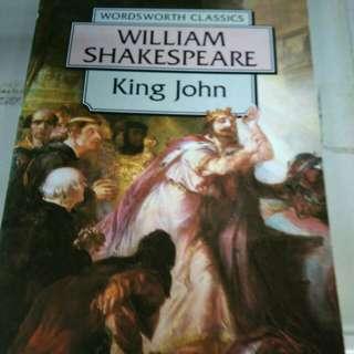 William Shakespeare, King John