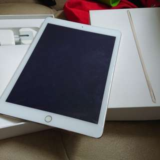 iPad Air 2 WiFi 128G Gold Color