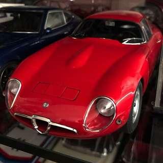 Autoart Alfa Romeo TZ MINT With Box