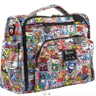 Brand New Authentic B.F.F Jujube Tokidoki Diaper Bag Price nego for fast deal