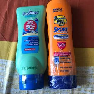 SPF 50 Sunscreen Kids and Adults