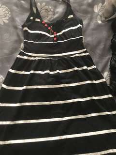 Stussy Stripey Black dress