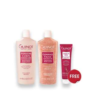 GUINOT BODY CARE PROMOTION SET WITH FREE FOOT CREAM