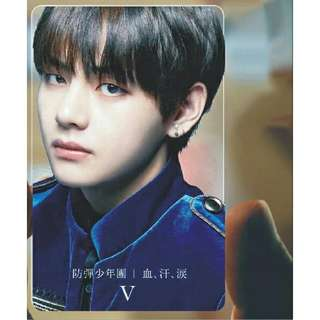 525 BTS Japanese bst Transparent photocard❤