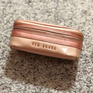 *REDUCED* Ted Baker pink cosmetics bag