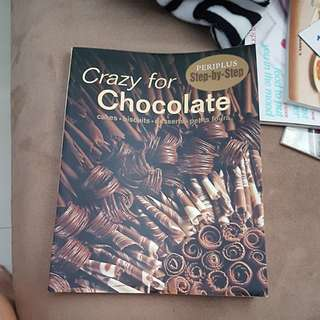 Crazy for chocolate recipe book