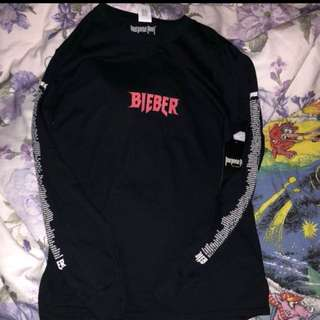 Justin Bieber Purpose tour sweat shirt BRAND NEW SIZE SMALL