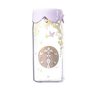 Spring flower silicone glass 473ml 2018 STARBUCKS KOREA (INSTOCK)