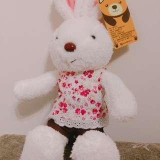 🚚 全新※可愛小兔娃娃(衣服可替換)
