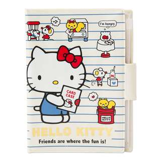 Japan Sanrio Hello Kitty Notebook Case (border)