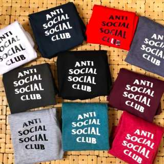 ANTI SOCIAL CLUB Tees