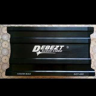 Debezt Audio Video 4 Channel Amplifier Monoblock - DZT 450M 1000W MAX