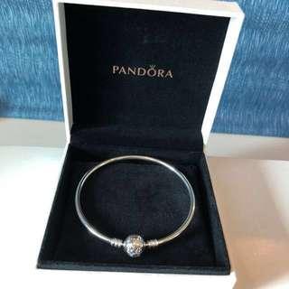 Limited edition Pandora Bangle you melt my heart