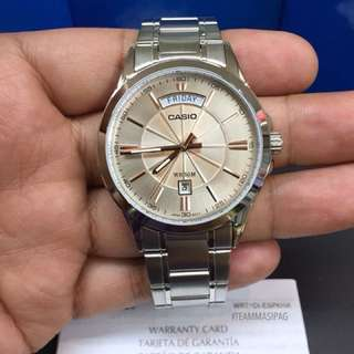 Casio Stainless MTP1381D Series