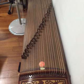 Guzheng with stands and tuner