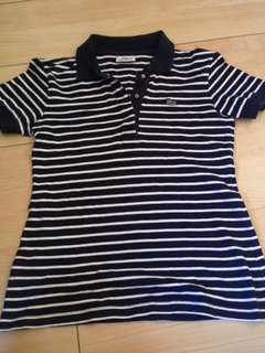 Auth Lacoste Stripes Polo Shirt