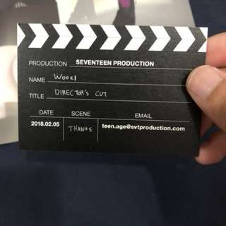 WTD DIRECTOR CUT BUSINESS CARD