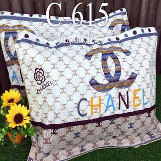 Pair of Pillowcases 2 Pieces CHANEL Design