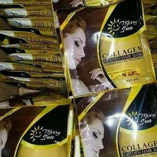 MERRY SUN COLLAGEN GOLDEN HAIR MASK