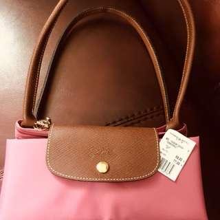 Longchamp 櫻花色L size