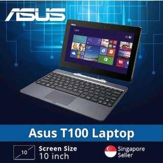 "Asus T100 [Intel Atom 10"" 2GB 64GB Win8] REFURBISHED"