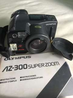 Olympus AZ300 Super Zoom Camera