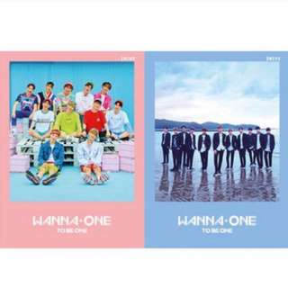 [NONPROFIT] Wanna One - To Be One Album