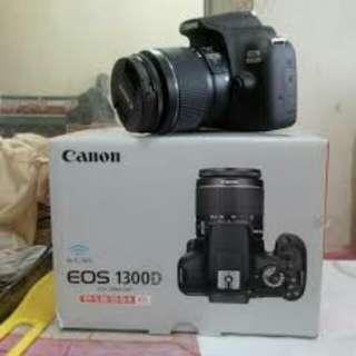 CANON EOS 1300D Kit 18-55mm Resmi Kredit Mudah