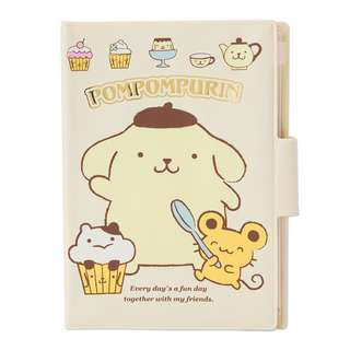 Japan Sanrio Pompompurin Notebook Case (sweets)