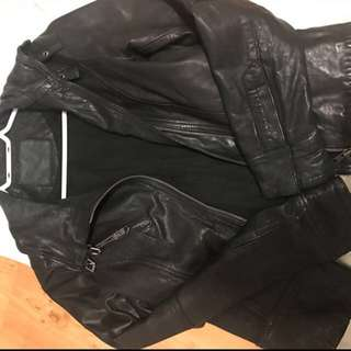 Brand New All Saints Leather Jacket