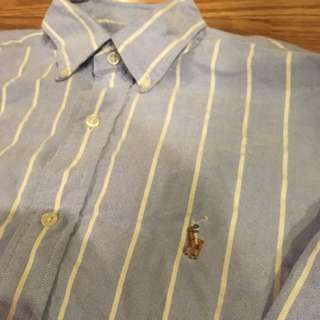 Authentic Polo Ralph Lauren button down / dress shirt