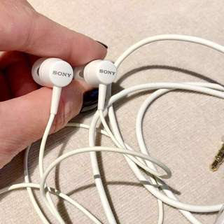 Sony headphone (with on-off switch)