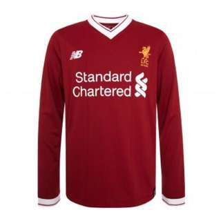 Jersey Liverpool home long sleeve 2017/2018