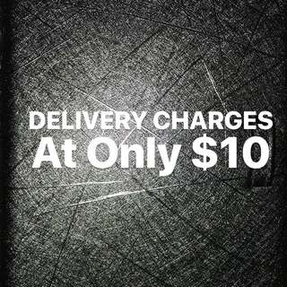 Delivery Charges Resumes at $10